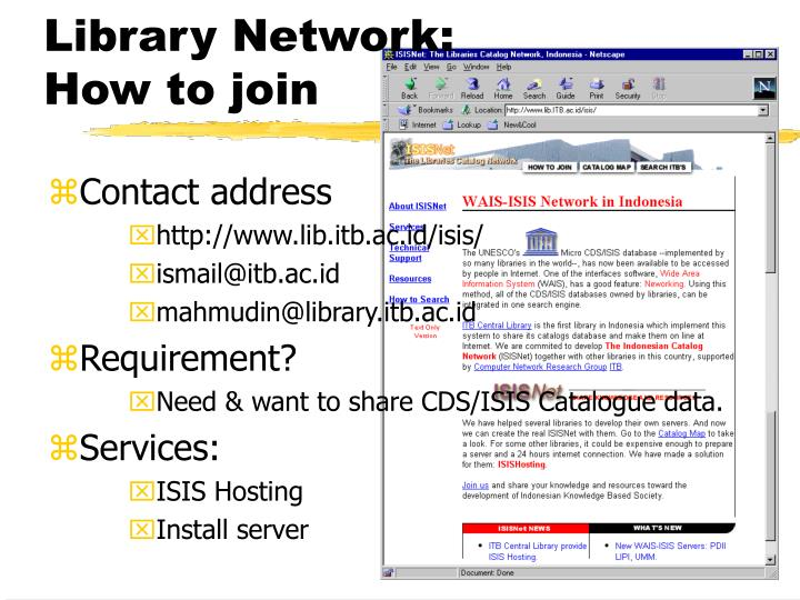Library Network: