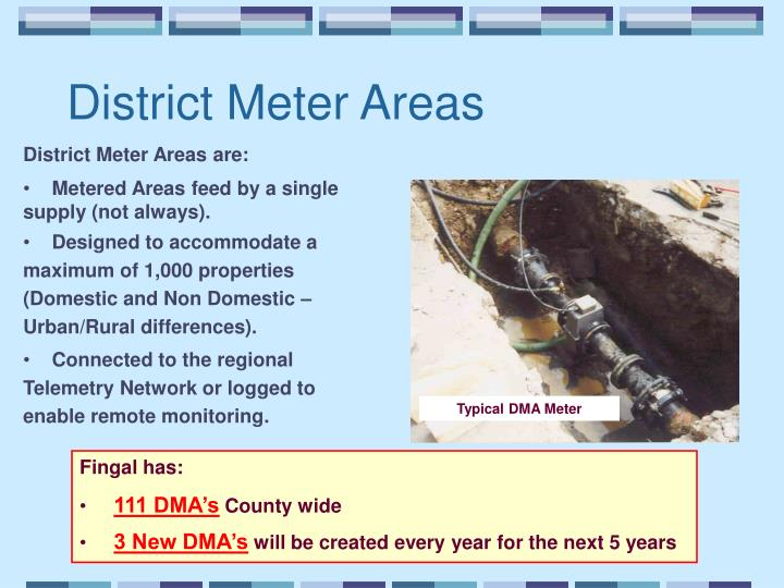 District Meter Areas