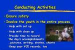conducting activities1