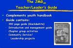 the jmg sm teacher leader s guide