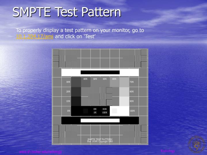 SMPTE Test Pattern