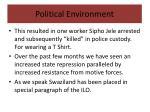 political environment2