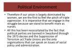 political environment6