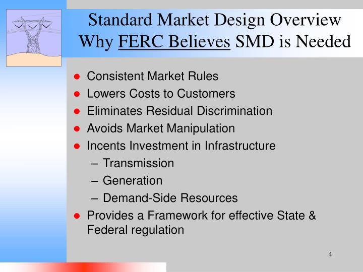 Standard Market Design Overview
