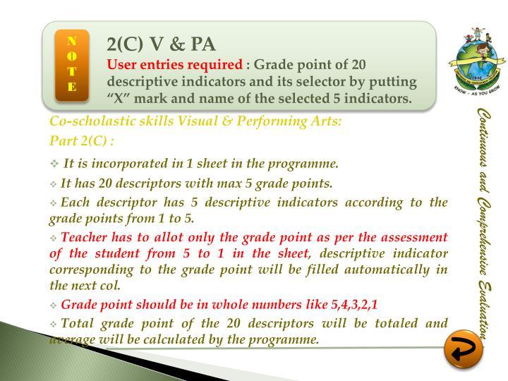 2(C) V & PA