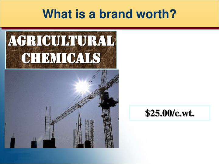 What is a brand worth?