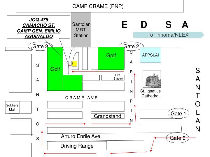 CAMP CRAME (PNP)