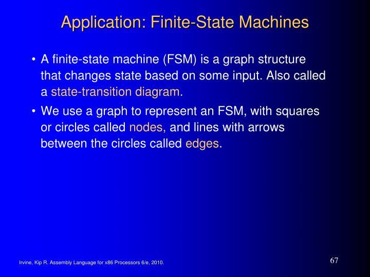 Application: Finite-State Machines