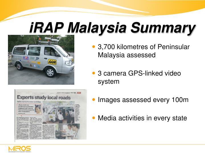 iRAP Malaysia Summary