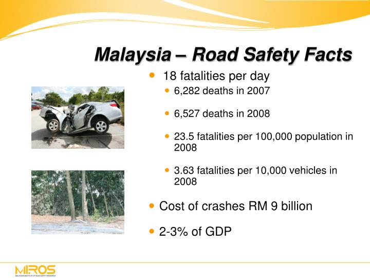 Malaysia – Road Safety Facts