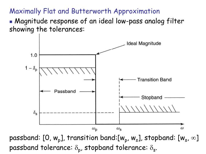 Maximally Flat and Butterworth Approximation