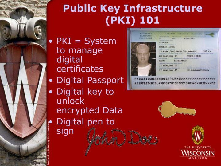 Public key infrastructure pki 101