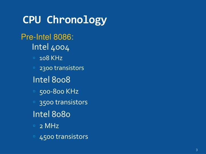 Cpu chronology1