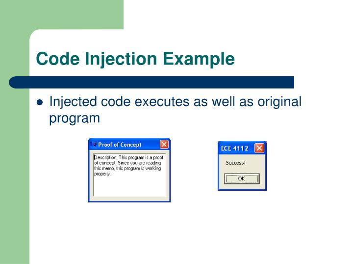Code Injection Example