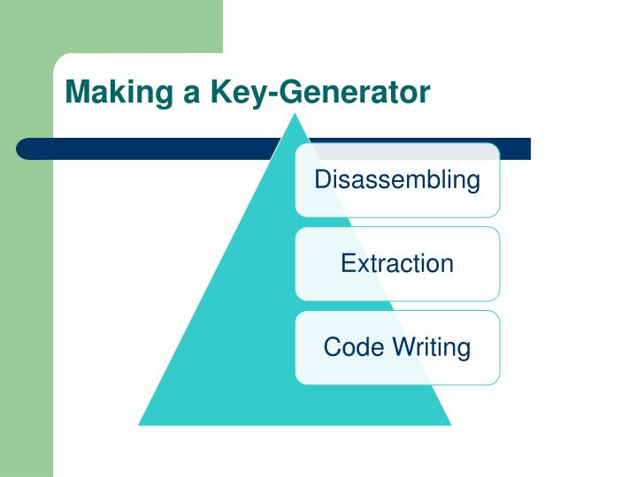 Making a Key-Generator