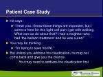 patient case study7