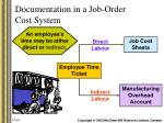 documentation in a job order cost system12