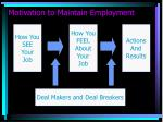 motivation to maintain employment2
