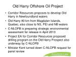 old harry offshore oil project1