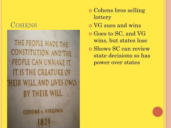 Cohens