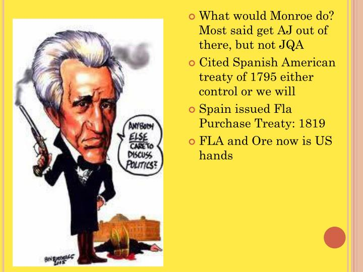 What would Monroe do? Most said get AJ out of there, but not JQA