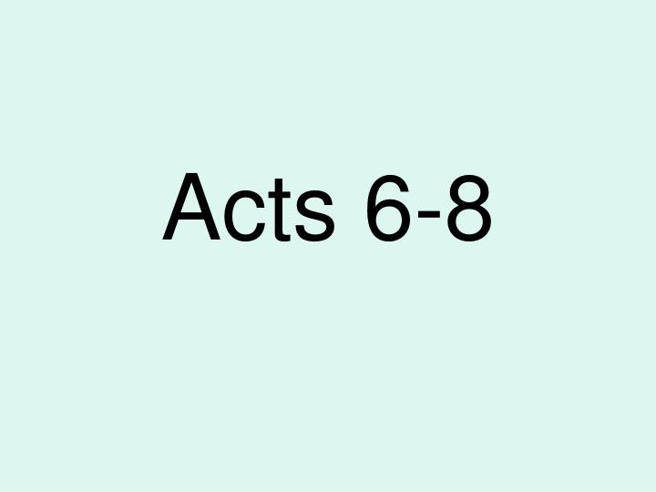 acts 6 8 n.