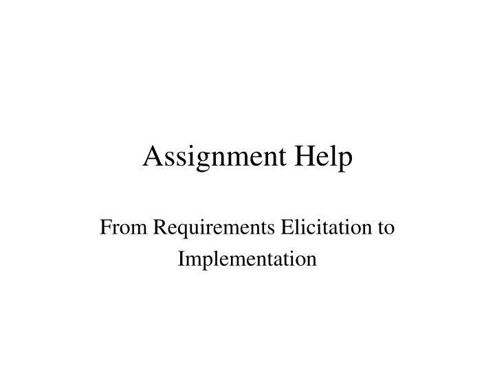 assignment help n.