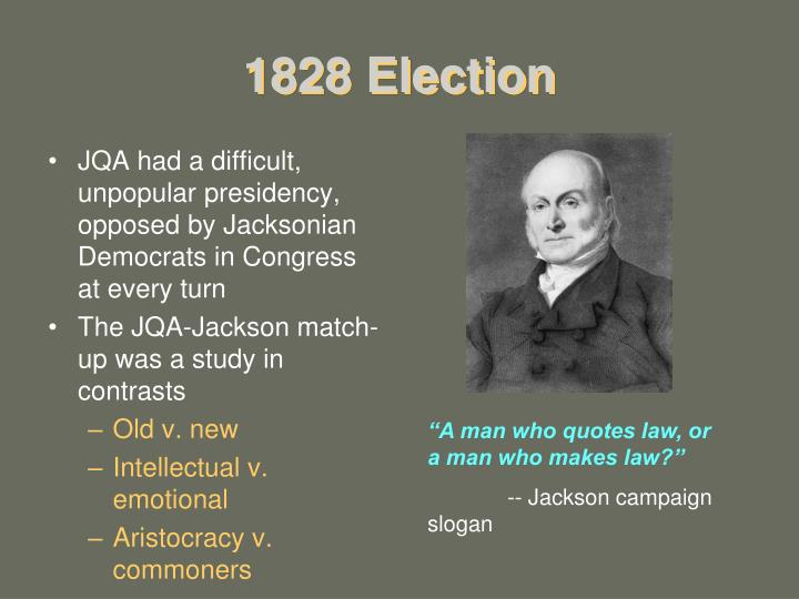 1828 Election