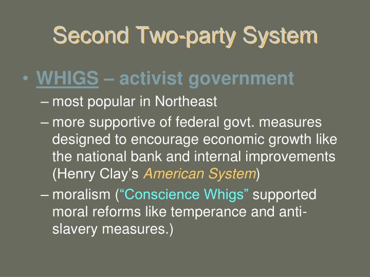 Second Two-party System