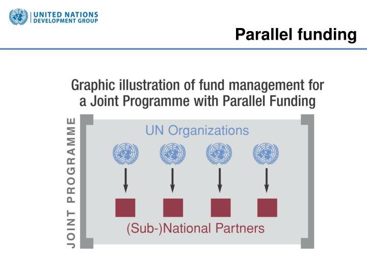 Parallel funding