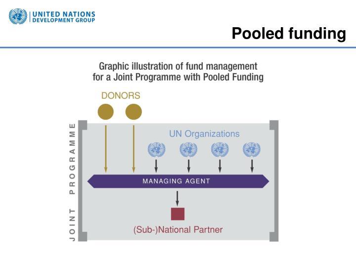 Pooled funding