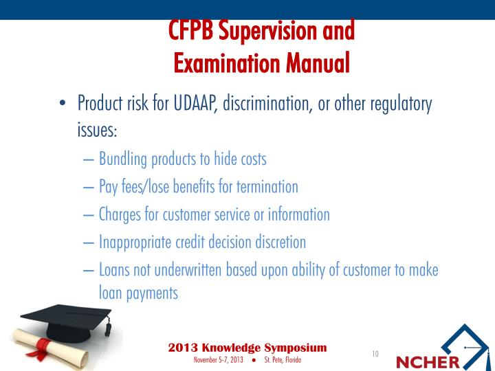 CFPB Supervision and