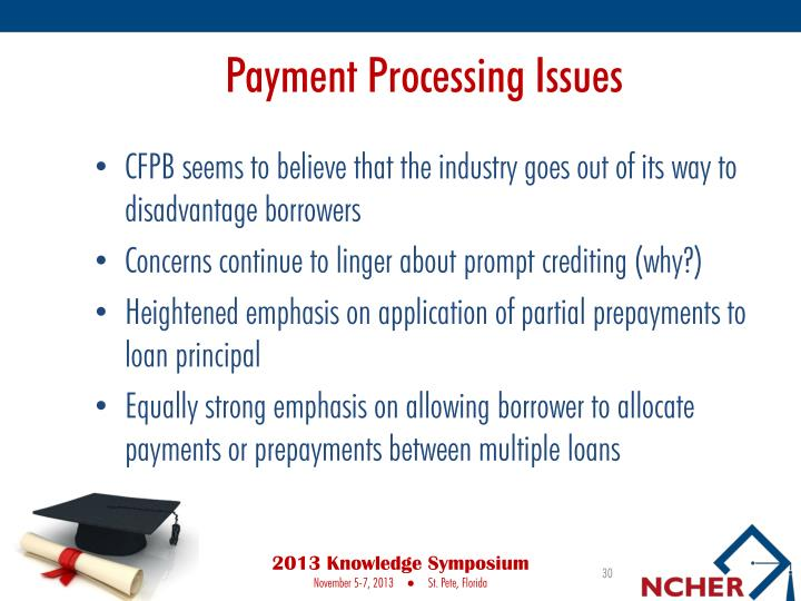Payment Processing Issues