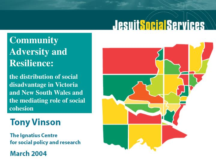 Community Adversity and Resilience: