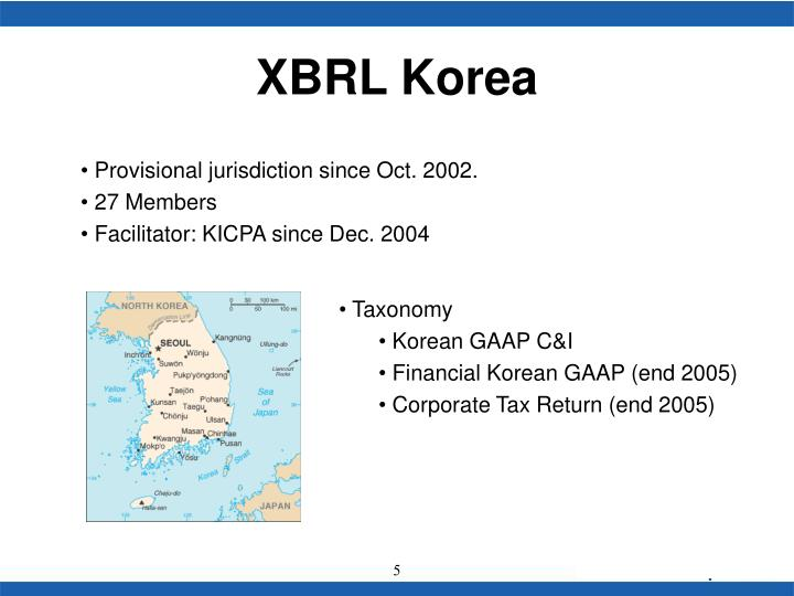XBRL Korea