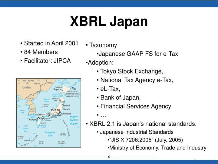 XBRL Japan