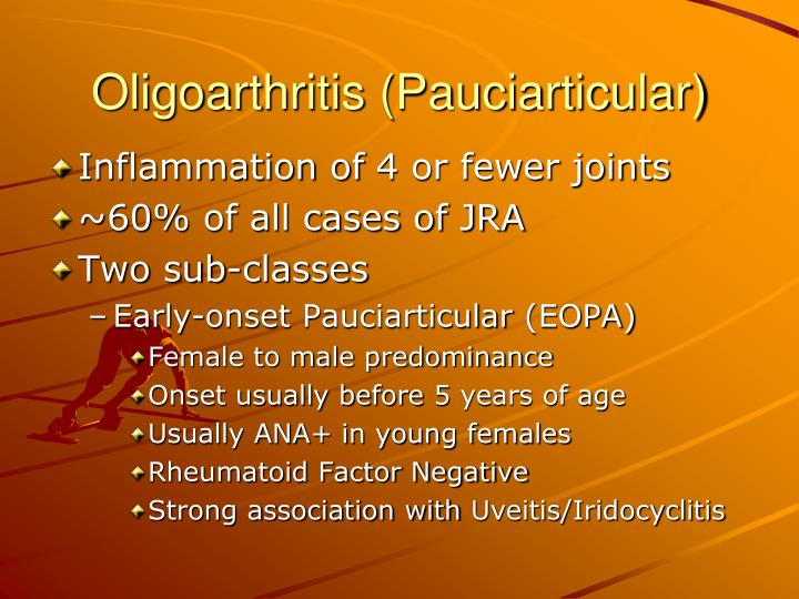 Oligoarthritis (Pauciarticular)