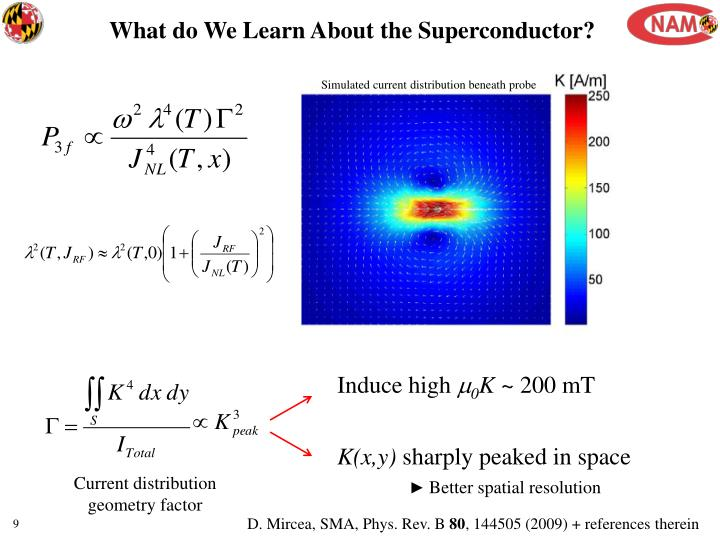 What do We Learn About the Superconductor?