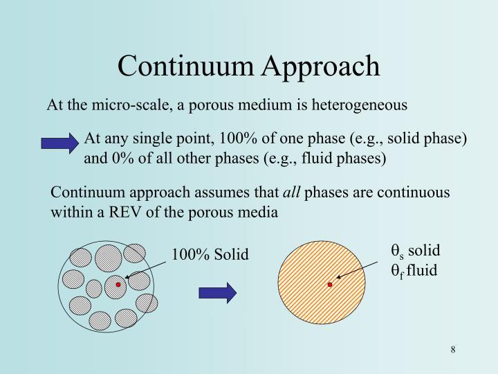Continuum Approach