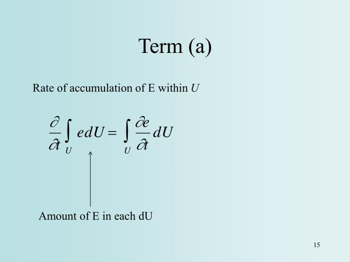 Term (a)