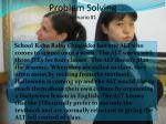 problem solving scenario 1