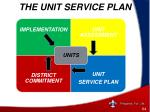 the unit service plan1