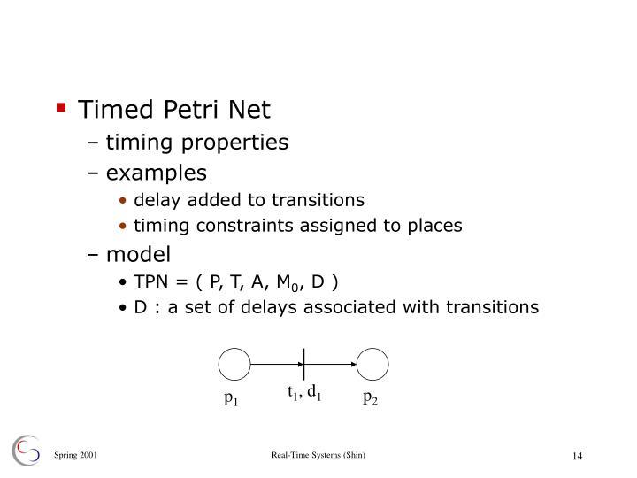Timed Petri Net