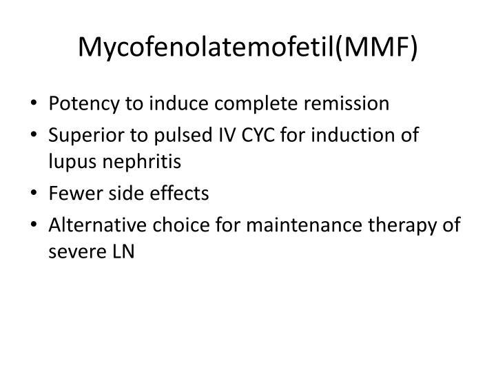 Mycofenolatemofetil(MMF)