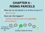 chapter 6 rising parcels