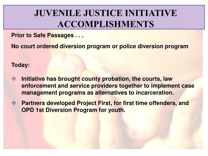 JUVENILE JUSTICE INITIATIVE