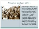 counter culture 1970s