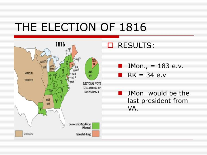 THE ELECTION OF 1816
