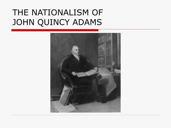 THE NATIONALISM OF