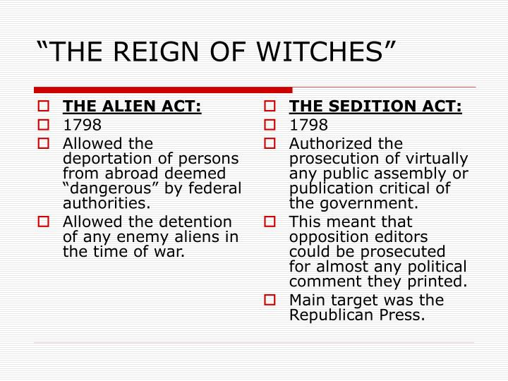 """""""THE REIGN OF WITCHES"""""""